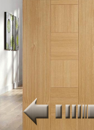 Soft stop for timber doors