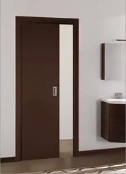 Pocket doors for timber doors