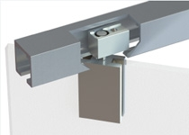 59101 Top single pivot hinge