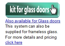 Kits for glass