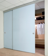 SAHECO SV45 / SV85 wardrobe gear for frameless glass sliding doors