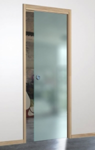 iMpero Slide pocket door kit for Frameless Glass