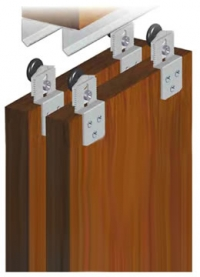 SAHECO SF-30 top hung wardrobe sliding kit