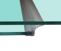 UNIFIN vertical seal for sliding glass doors