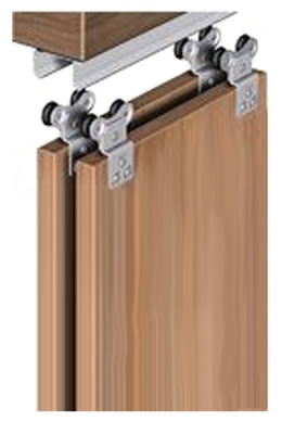 SAHECO SF 53 Top Hung Wardrobe Sliding Kit, 45kg