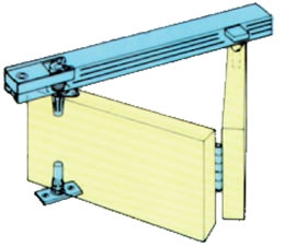 Henderson bifold door track kit