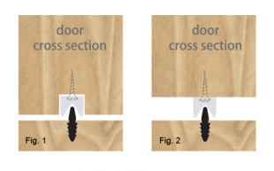 BK2 full length floor guide kit, fitting options