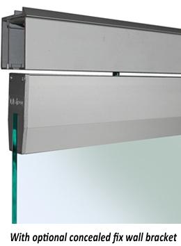 Saheco Sv Roller For Frameless Glass Doors Optional Soft Brake