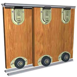 Saheco Sf 51 Bottom Rolling Wardrobe Kit Sliding Doorstuff