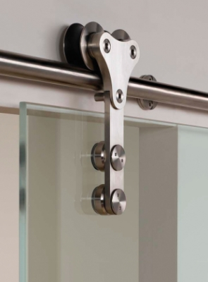 Projeto Xtra G designer sliding door gear for frameless glass