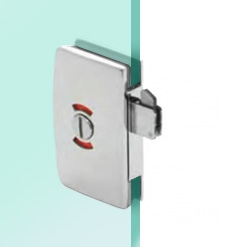 Glass Door Bathroom Lock With Indicator