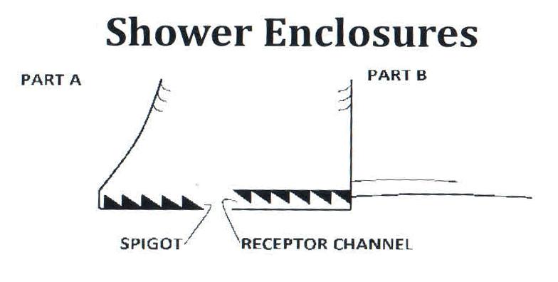 Vertical Shower Door Seal Gallery Of Metre Translucent