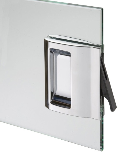 HAFELE 901.01.292 pocket door handle set for frameless glass