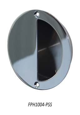 FPH1004-PSS Flush pull handle, Polished Stainless Steel
