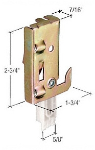 N-7047 Replacement guide and connector bracket for sliding wardrobe door