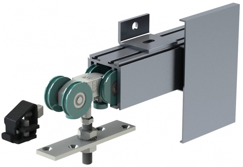 COBURN Straightaway 250 sliding door gear - components
