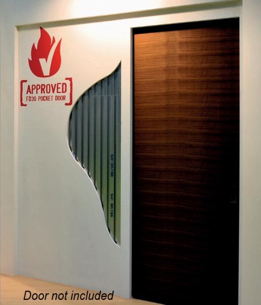 Impero Fire Door Fd30 Pocket Door Kit Sliding Doorstuff