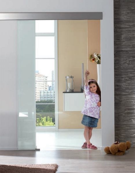GEZE Perlan AUT-NT for frameless glass