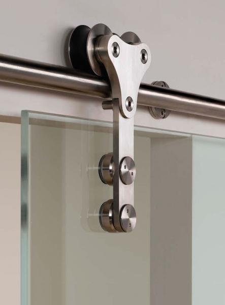 External Frameless Sliding Glass Doors Top Hung